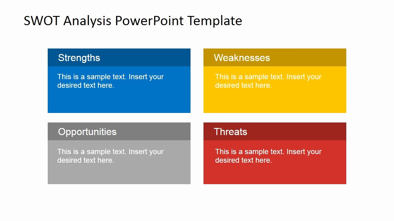 Swot Analysis Ppt Template Best Of Animated Swot Analysis Powerpoint Template Slidemodel