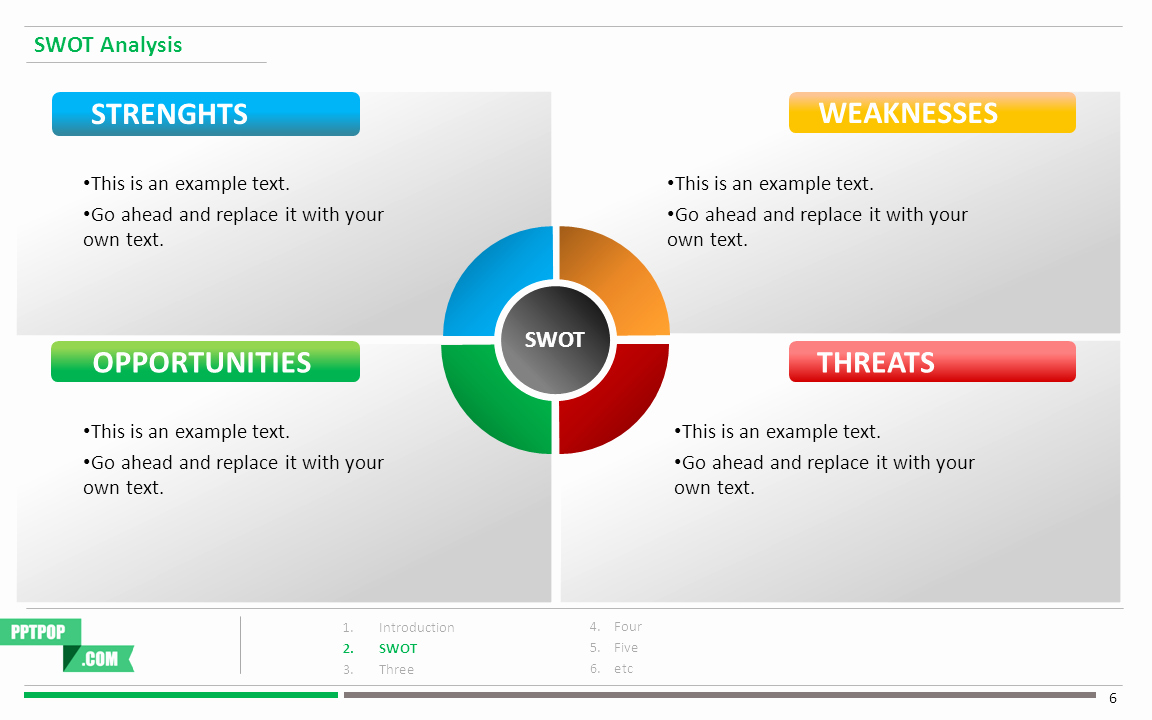 Swot Analysis Ppt Template Best Of Boost Your Presentation with This Swot Analysis Ppt