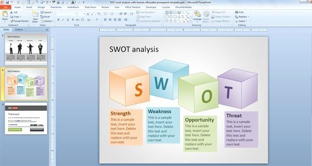 Swot Analysis Ppt Template Best Of Different Types Of Swot Analysis Templates – Slidehunter