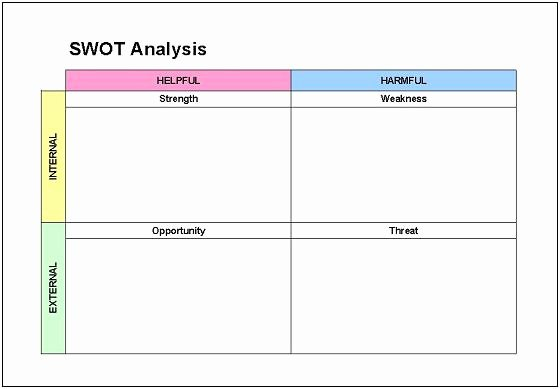 Swot Analysis Template Excel Beautiful Swat Risk assessment Matrix Template to Pin On