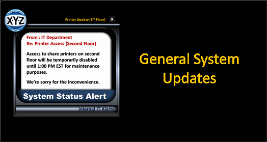 System Downtime Notification Template Fresh System Downtime Notification Template Free Download