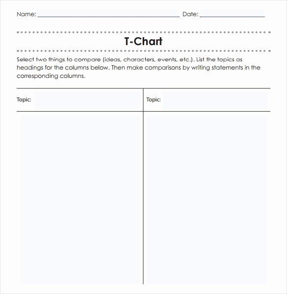 T Chart Template Pdf Beautiful 16 T Chart Templates Doc Pdf