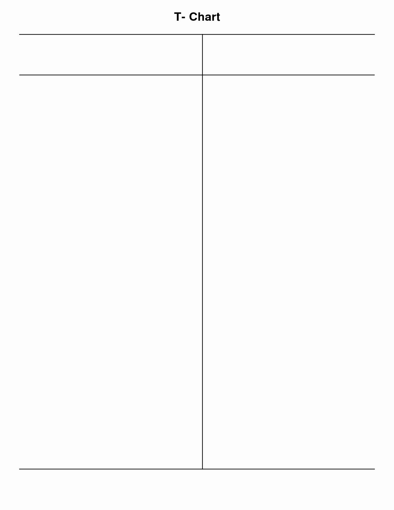 T Chart Template Pdf Elegant 10 Best Of T Chart Pdf T Chart Graphic organizer