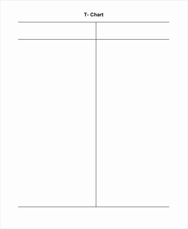 T Chart Template Pdf Elegant T Chart Templates 6 Free Word Excel Pdf format