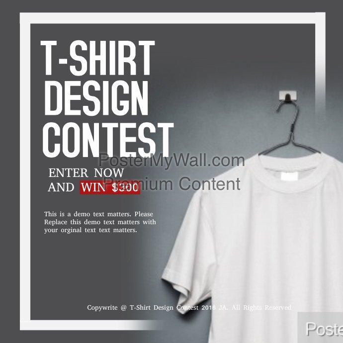 T Shirt Flyer Template Best Of T Shirt Design Contest Template