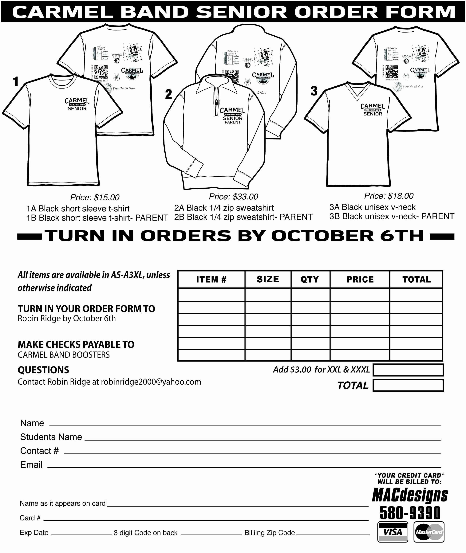 T Shirt order Template New Inspirational 12 Custom T Shirt order form Template Fouao