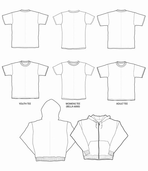 T Shirt Tag Template Awesome Printable T Shirt order forms Free