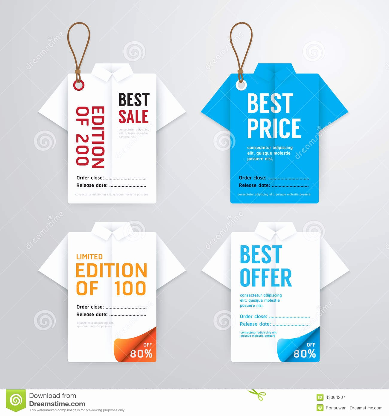 T Shirt Tag Template Best Of Sale Banners Price Tag Paper Card Template Shirt origami
