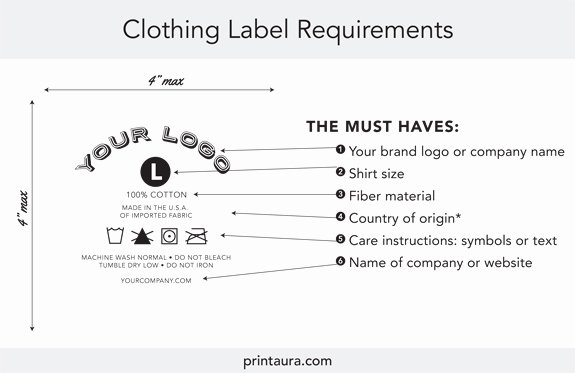T Shirt Tag Template Best Of Ultimate Guide to the Legal Requirements for T Shirt