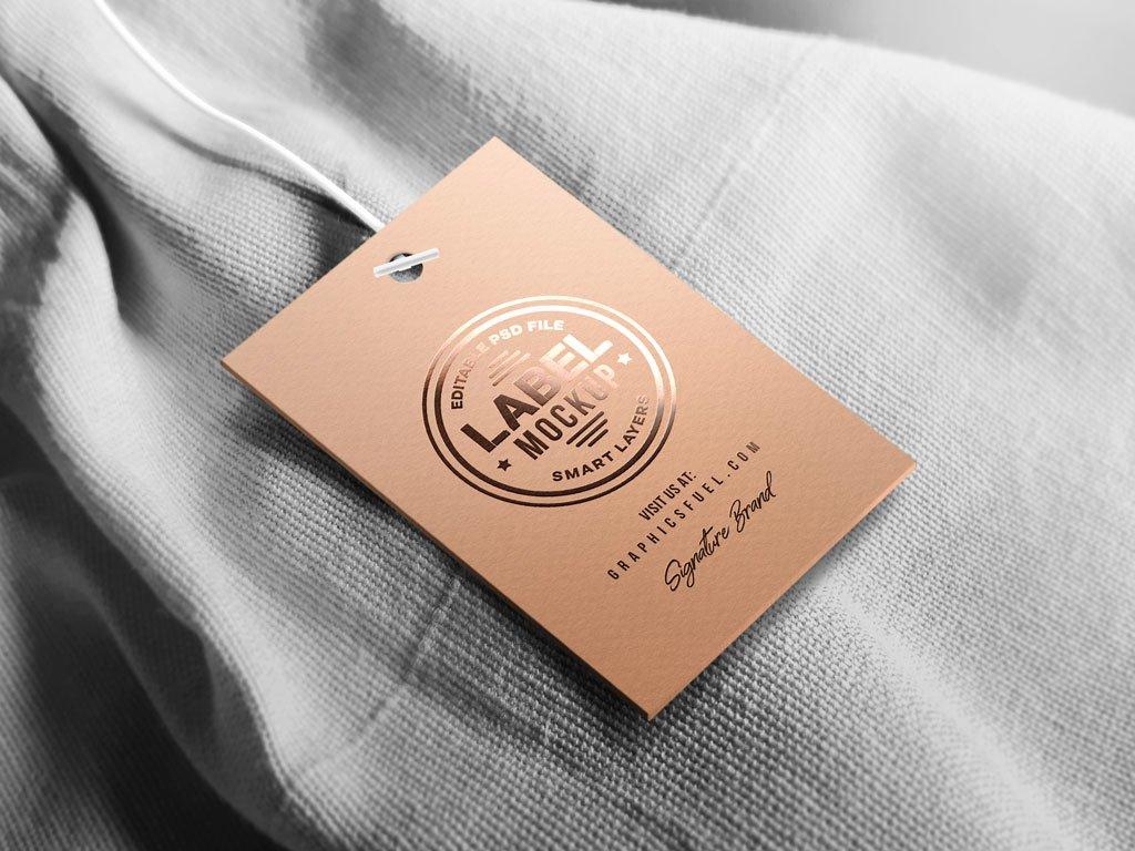 T Shirt Tag Template Fresh Long Sleeve T Shirt Front & Back Mockup