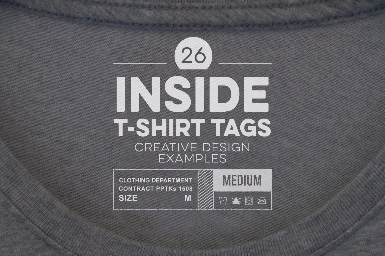 T Shirt Tag Template New 26 Inside T Shirt Tags Creative Design Examples 1552