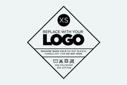 T Shirt Tag Template Unique T Shirt Design Kit