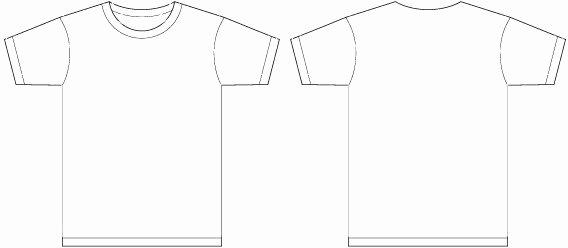 T Shirt Template Ai Beautiful Shirt Template Adobe Illustrator Bbt