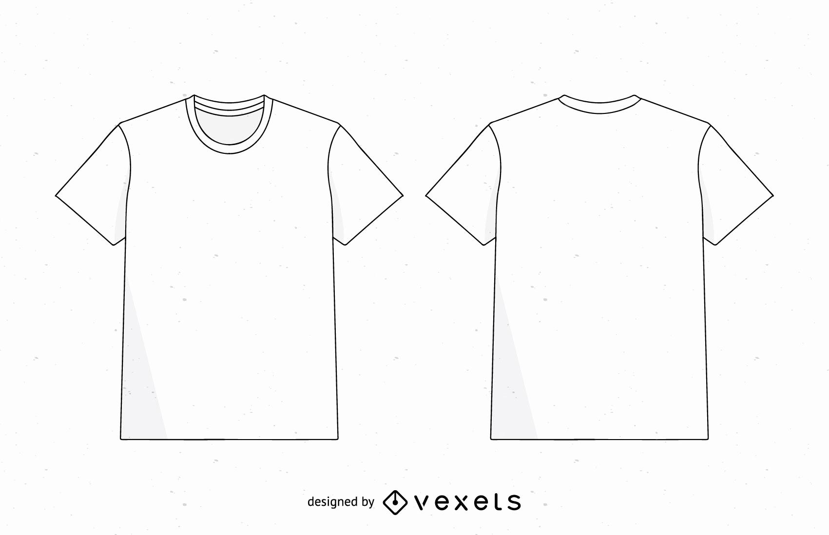 T Shirt Template Ai Best Of Men T Shirt Template Vector Vector