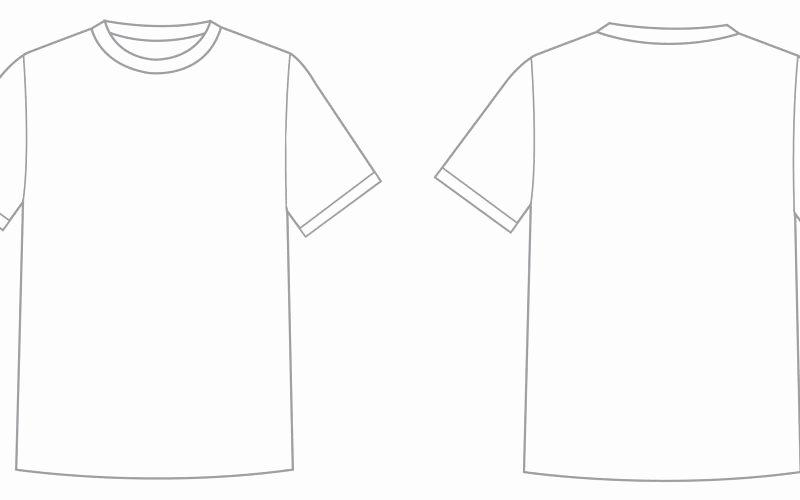 T Shirt Template Ai Elegant T Shirt Template Illustrator Elegant Tshirt Template Psd