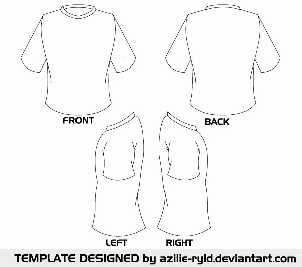 T Shirt Template Ai Elegant Vector Blank Tshirt Template Front and Back