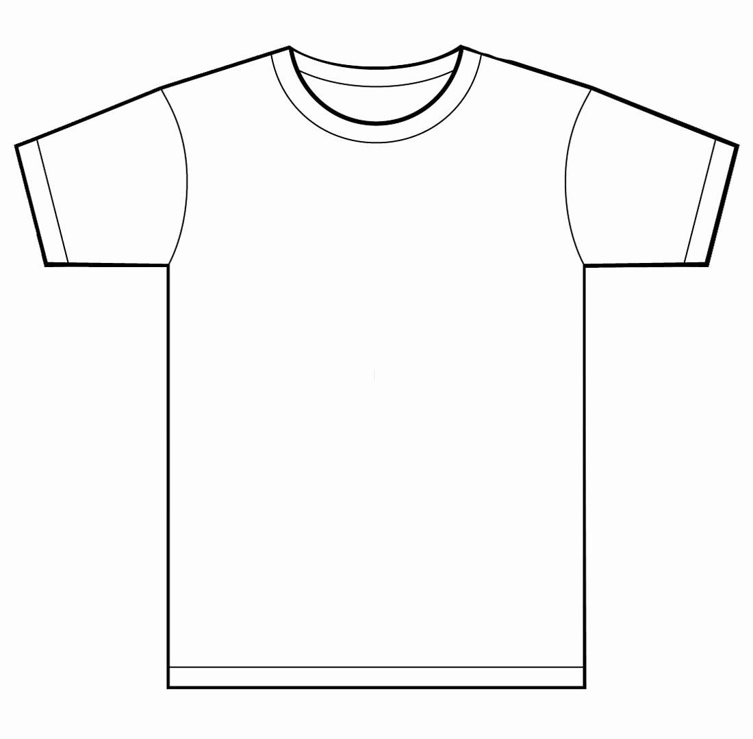 T Shirt Template Ai Luxury Shirt Design Template Illustrator Clipart Best Clipart