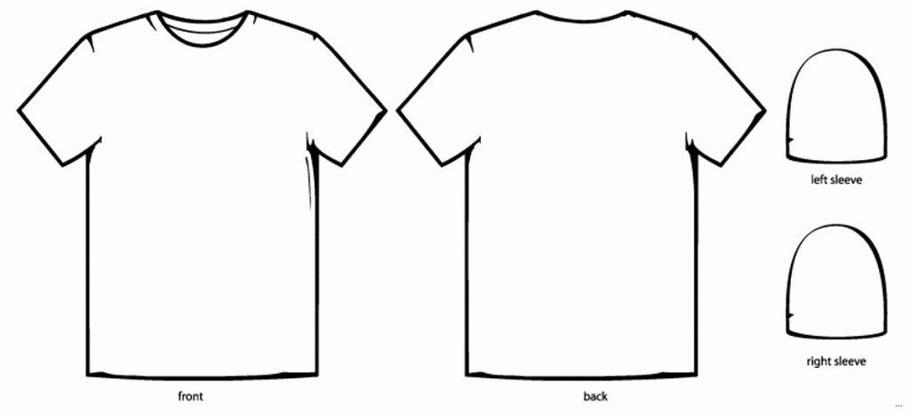 T Shirt Template Ai New Shirt Template Design T Shirt Design Template Illustrator