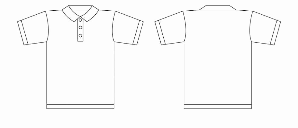 T Shirt Template Illustrator Best Of Tshirt Illustrator Template Clipart Best