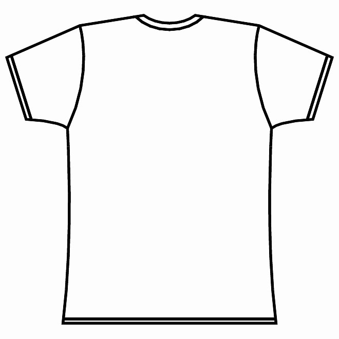 T Shirt Template Illustrator Fresh Template Long Sleeve T Shirt Clipart Best