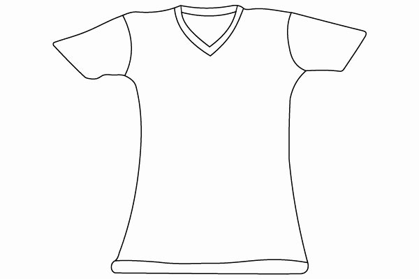 T Shirt Template Illustrator Lovely 74 Best Images About Vector T Shirt Templates On Pinterest