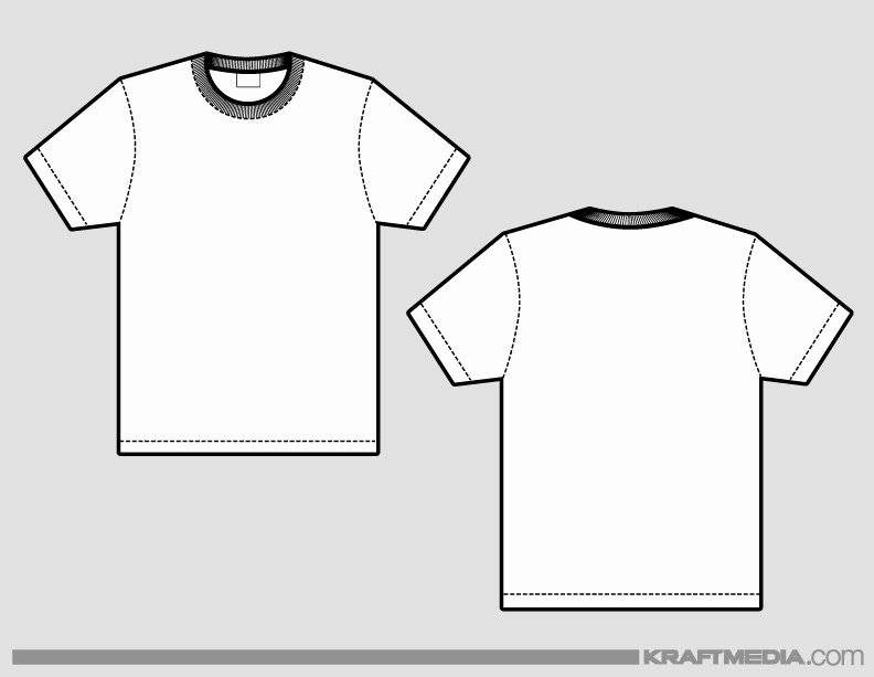 T Shirt Template Illustrator Luxury Kraftmedia Custom Decorated Merchandise T Shirt Printing