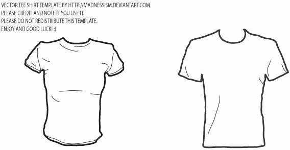 T Shirt Template Illustrator Luxury Vector T Shirt Template Free Vector In Adobe Illustrator