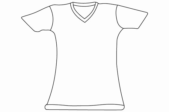 T Shirt Template Illustrator Unique T Shirt Vector Template Illustrator