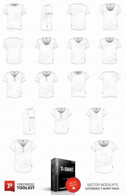 T Shirt Template Illustrator Unique Vector T Shirt Template Illustrator Eps Psd V Neck Round