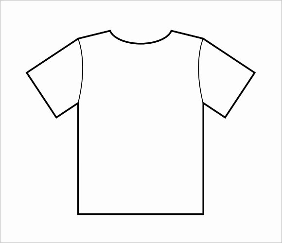 T Shirt Template Pdf Awesome 8 T Shirt Samples