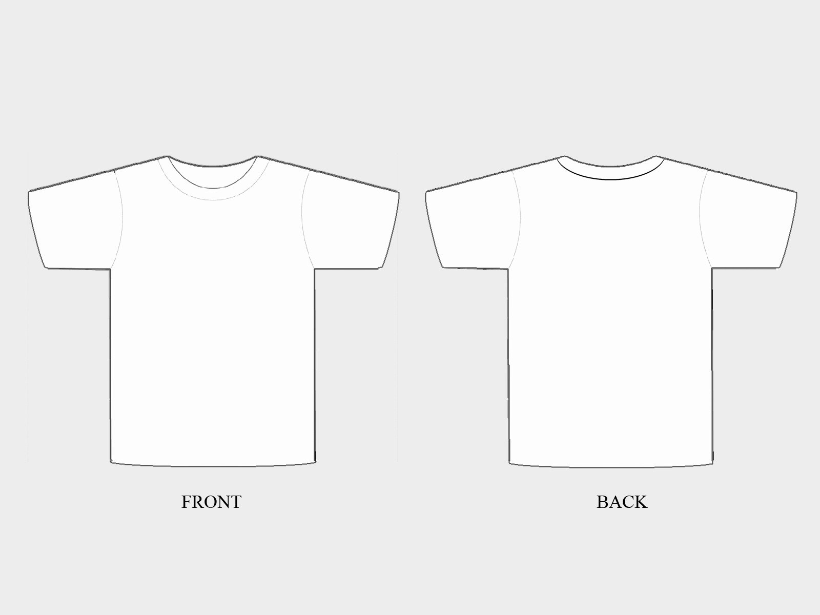 T Shirt Template Pdf Awesome the Treachery Of T Shirts