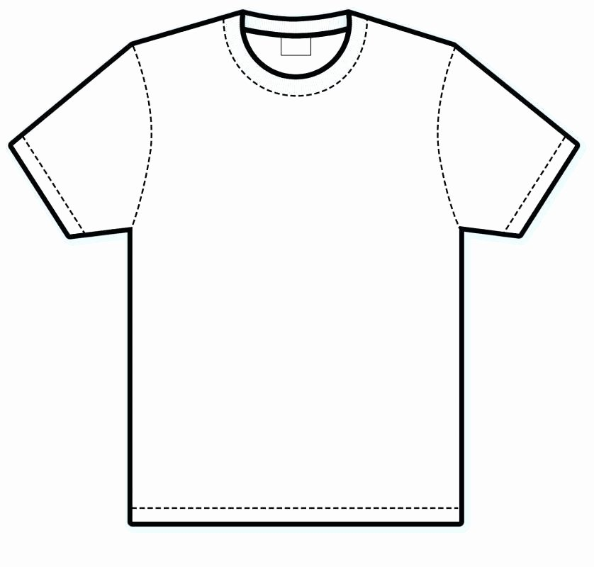 T Shirt Template Pdf Best Of Blank Shirt Template Pdf T Shirts Vector – Vancouvereast