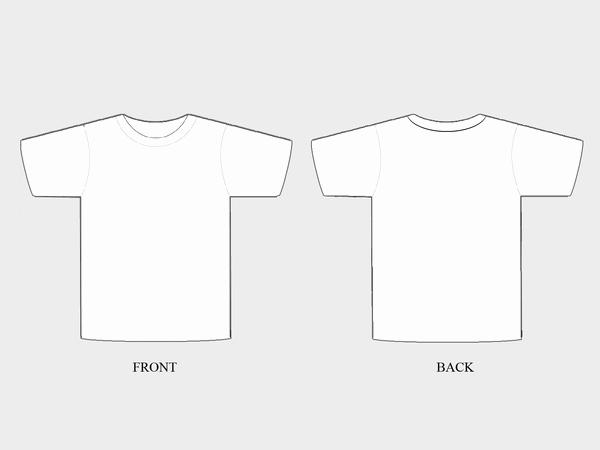 T Shirt Template Pdf Elegant Plain T Shirt