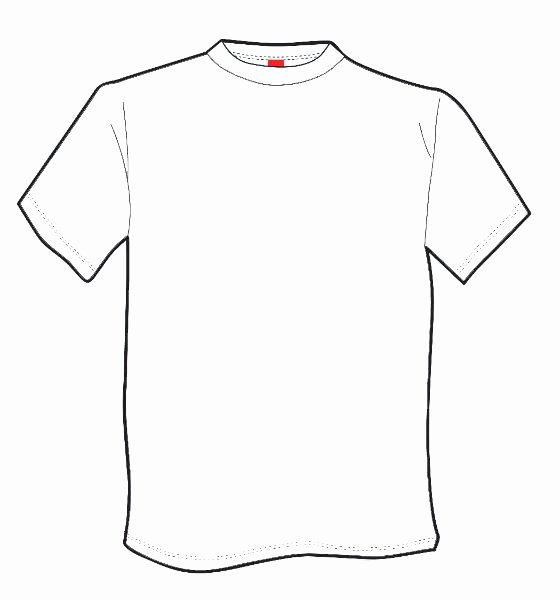 T Shirt Template Pdf Lovely Free T Shirt Printable Template Download Free Clip Art
