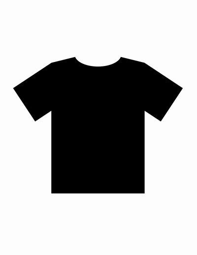 T Shirt Template Pdf Luxury Blank Tshirt Template Pdf