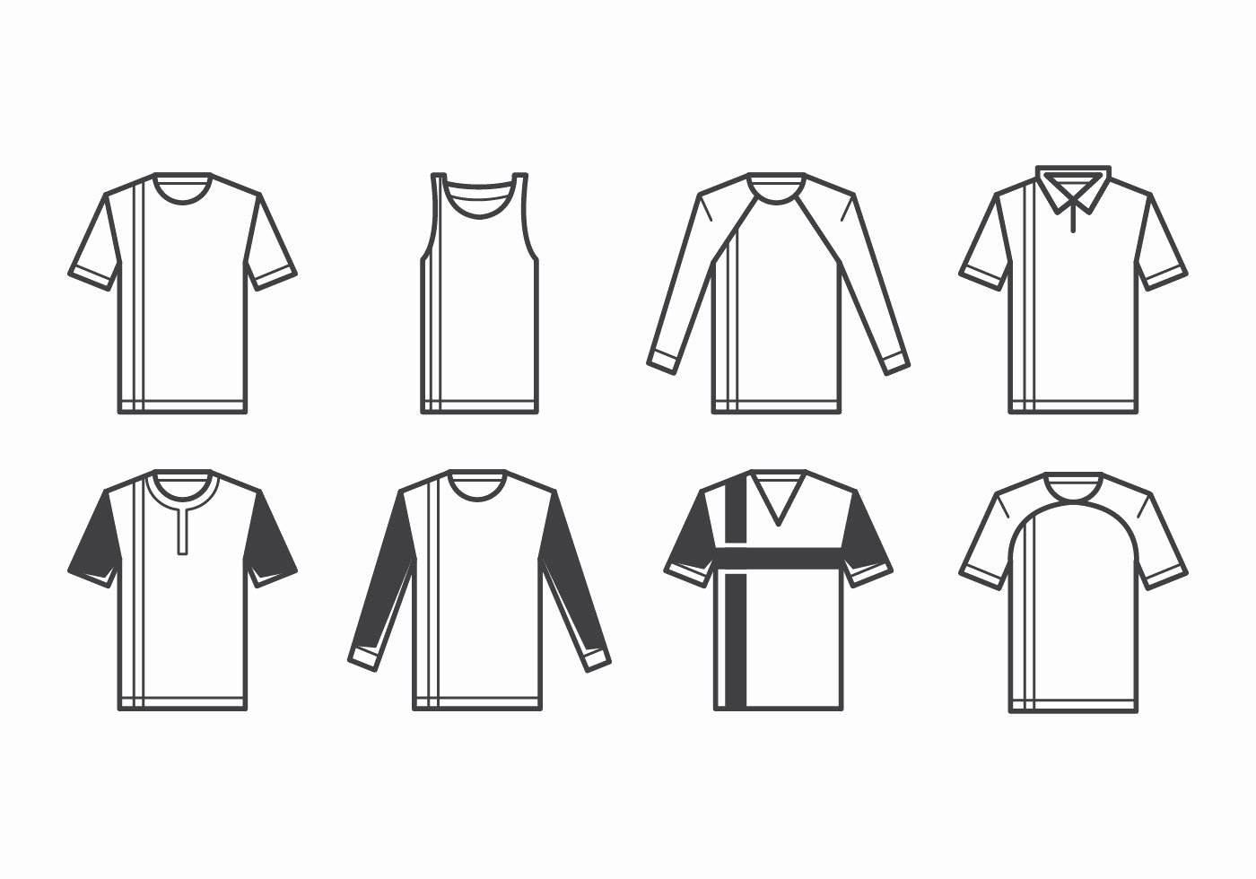 T Shirt Template Vector Awesome T Shirt Template Vector Download Free Vector Art Stock