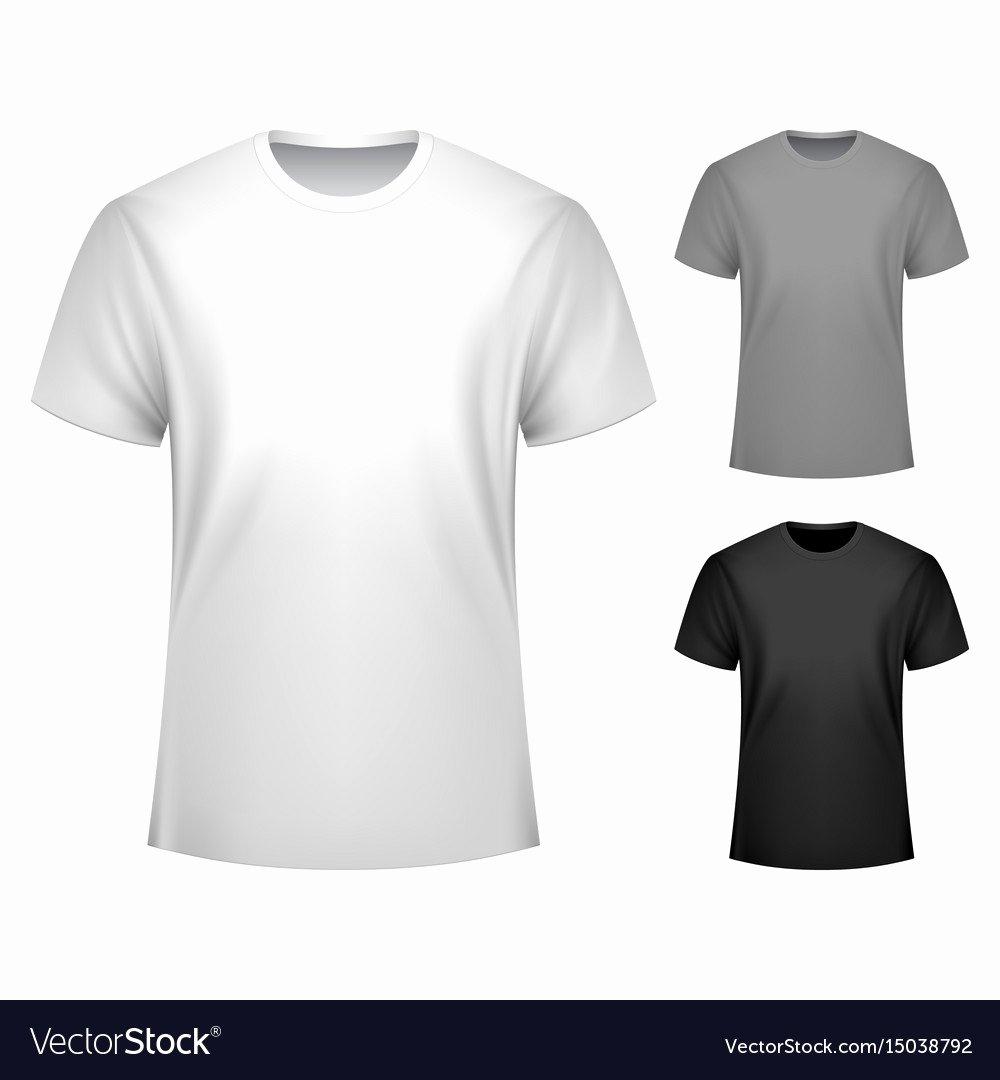 T Shirt Template Vector Beautiful Men T Shirt Template Royalty Free Vector Image