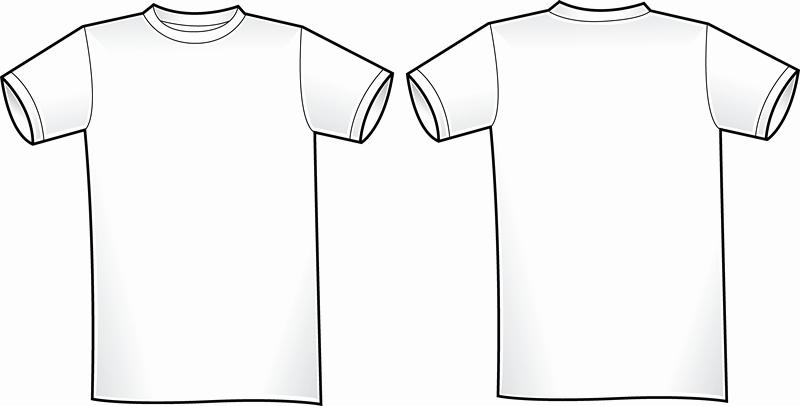 T Shirt Template Vector Beautiful Vector T Shirt Template 2 Vector