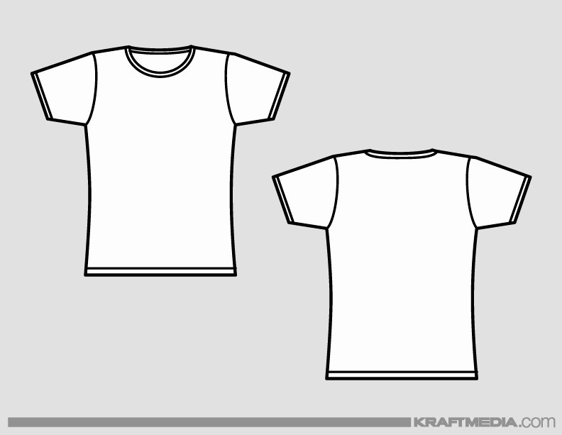 T Shirt Template Vector Best Of Kraftmedia Custom Decorated Merchandise T Shirt Printing