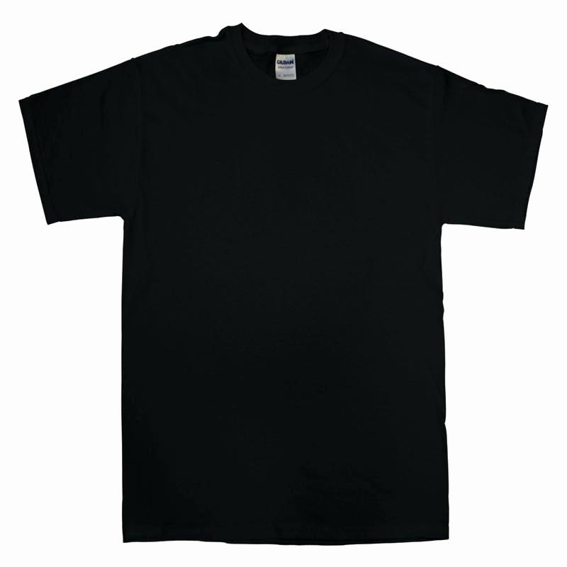 T Shirt Template Vector Elegant Vector T Shirt Template Set Plain Black Blank – Puntogov