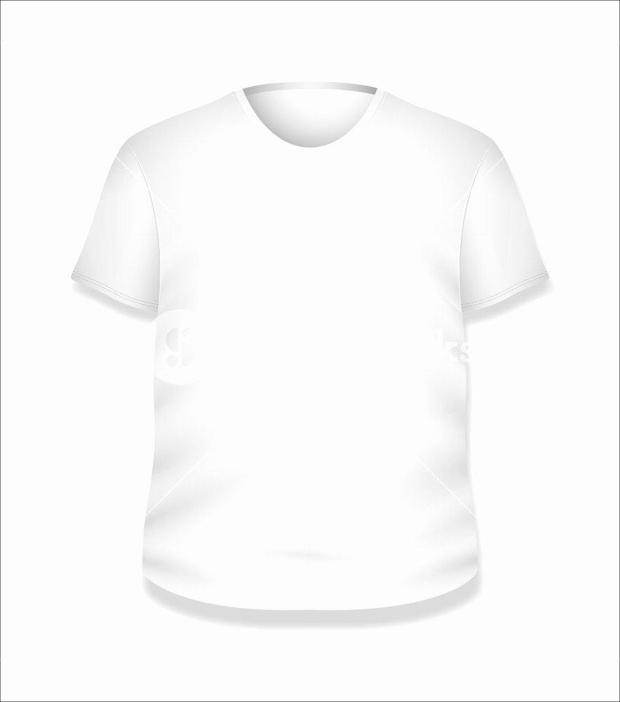 T Shirt Template Vector Lovely White T Shirt Design Vector Illustration Template Royalty