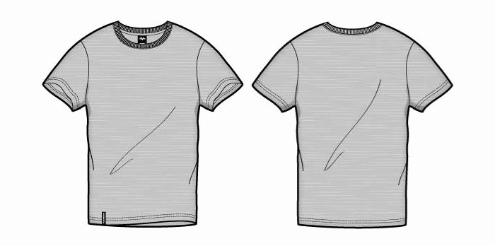 T Shirt Template Vector Unique 41 Blank T Shirt Vector Templates Free to Download