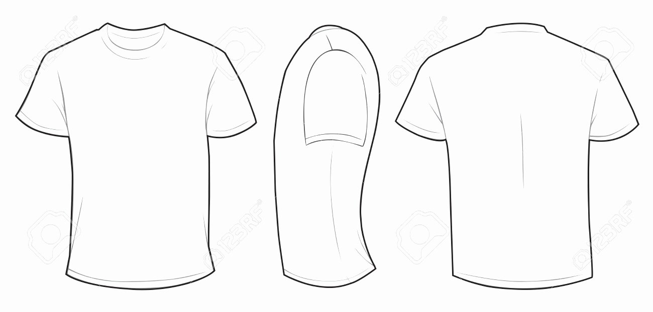 T Shirt Template Vector Unique Mens T Shirt Template Templates Data