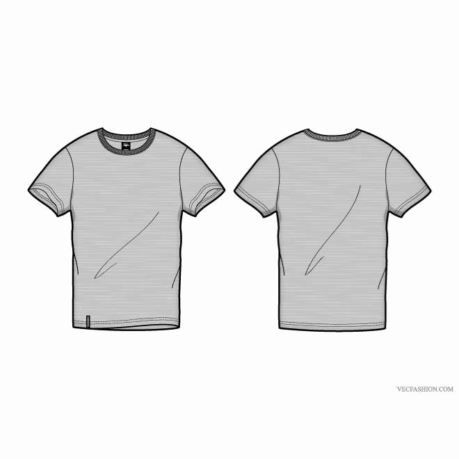 T Shirt Template Vector Unique T Shirt Template Vector Design Download at Vectorportal