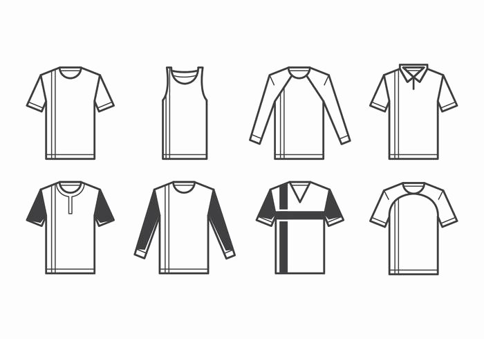 T Shirt Vector Template Awesome T Shirt Template Vector Download Free Vector Art Stock