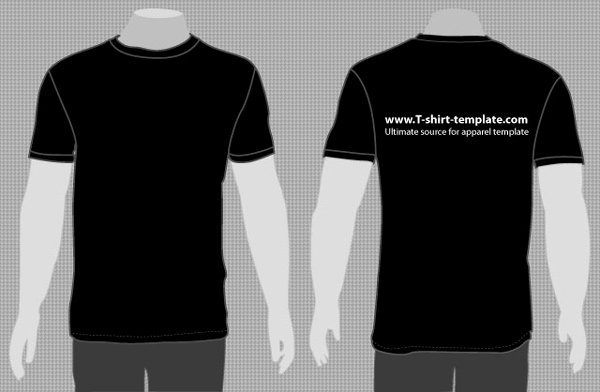 T Shirt Vector Template Elegant T Shirt Vector Template