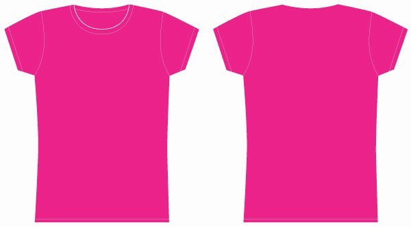 T Shirt Vector Template Fresh Girls Tshirt Template Vector
