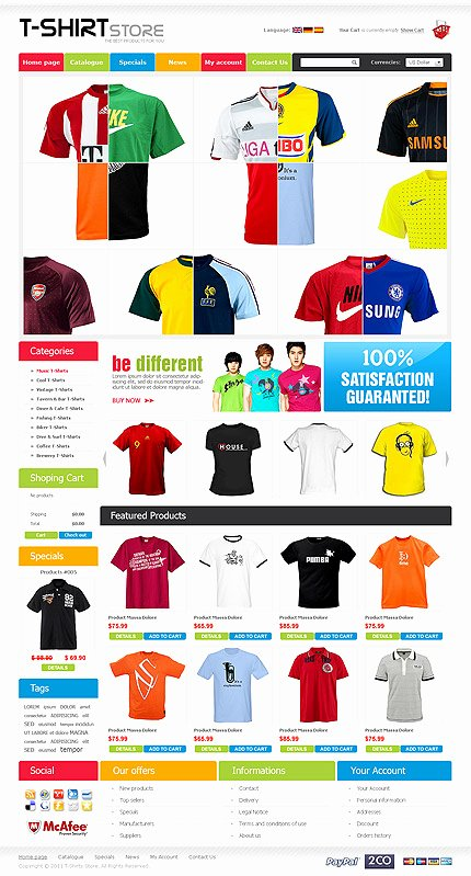 T Shirt Website Template Beautiful Colorful T Shirts Designs Labzada T Shirt