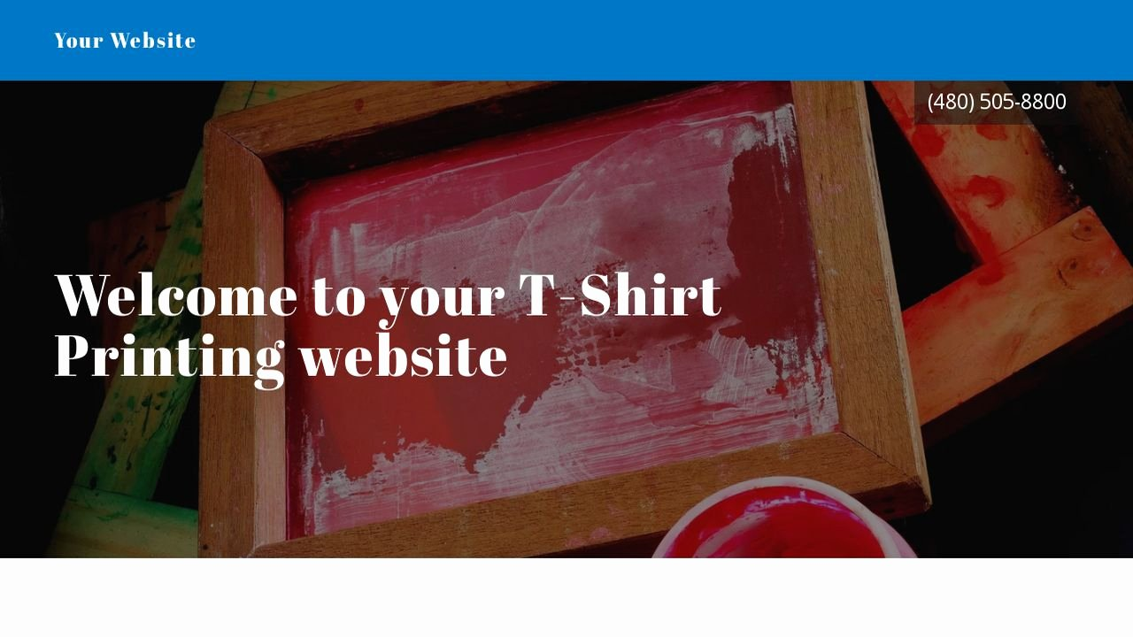 T Shirt Website Template Inspirational T Shirt Printing Website Templates