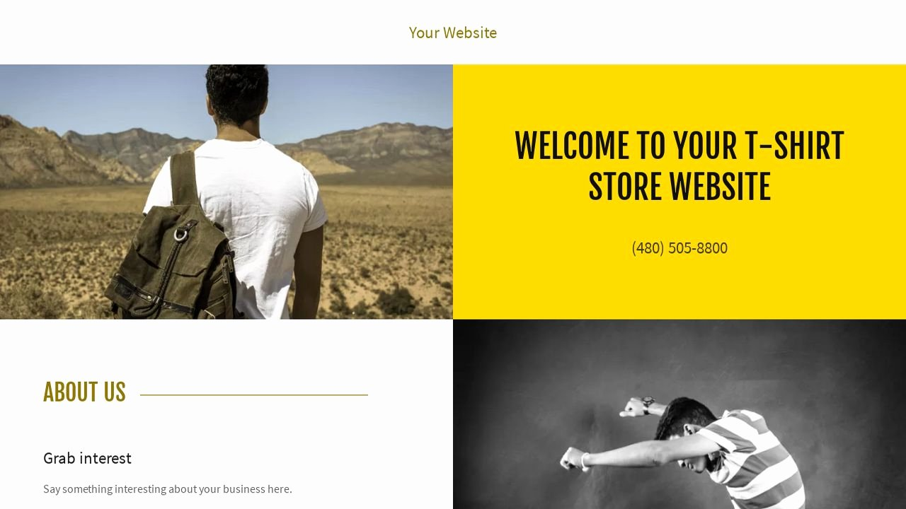 T Shirt Website Template Inspirational T Shirt Store Website Templates